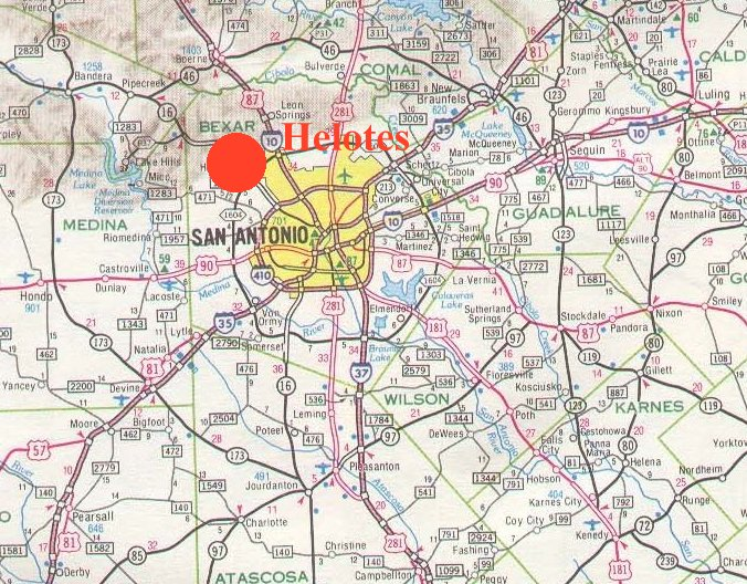 Helotes small town research project for Build on your lot east texas