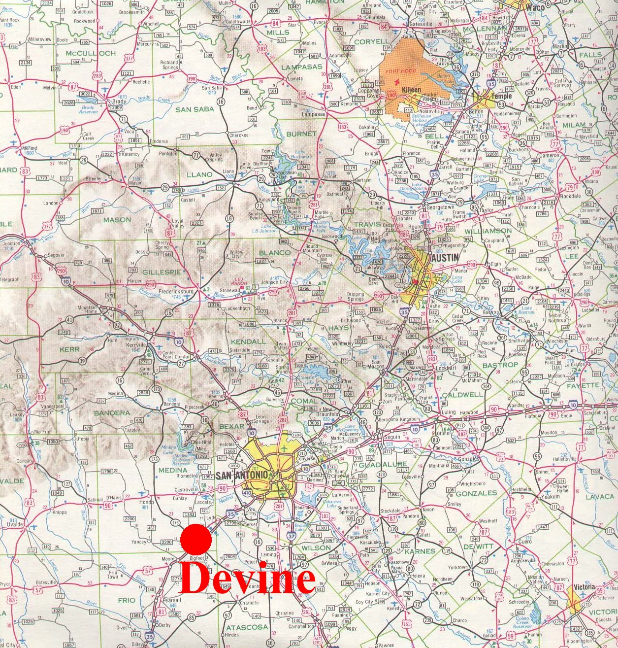 Devine Small Town Research Project