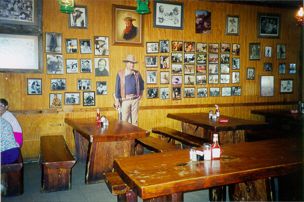 John Wayne Room Ost Restaurant
