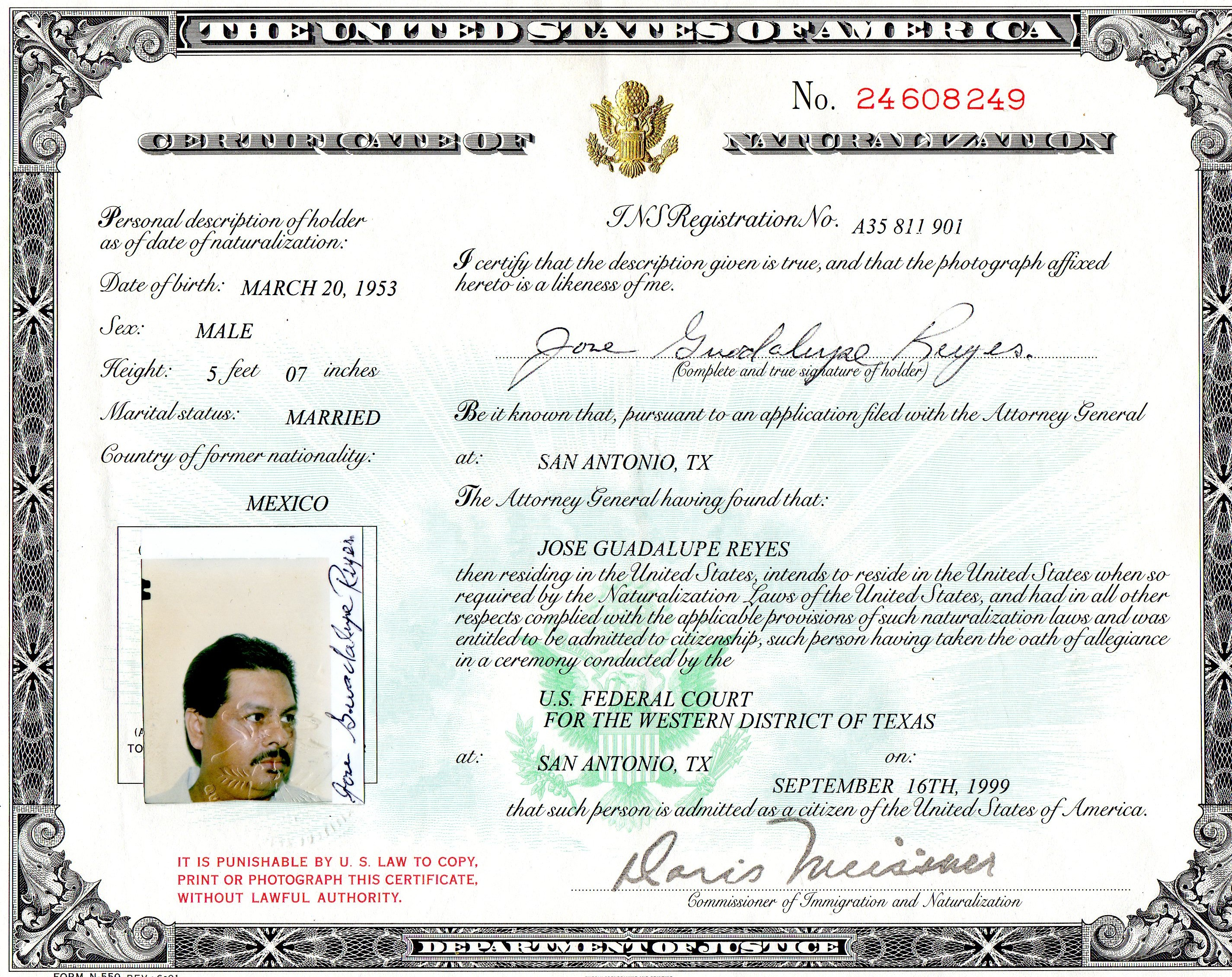 What documents are required for the global entry interview page that certificate was from 1999 xflitez Choice Image